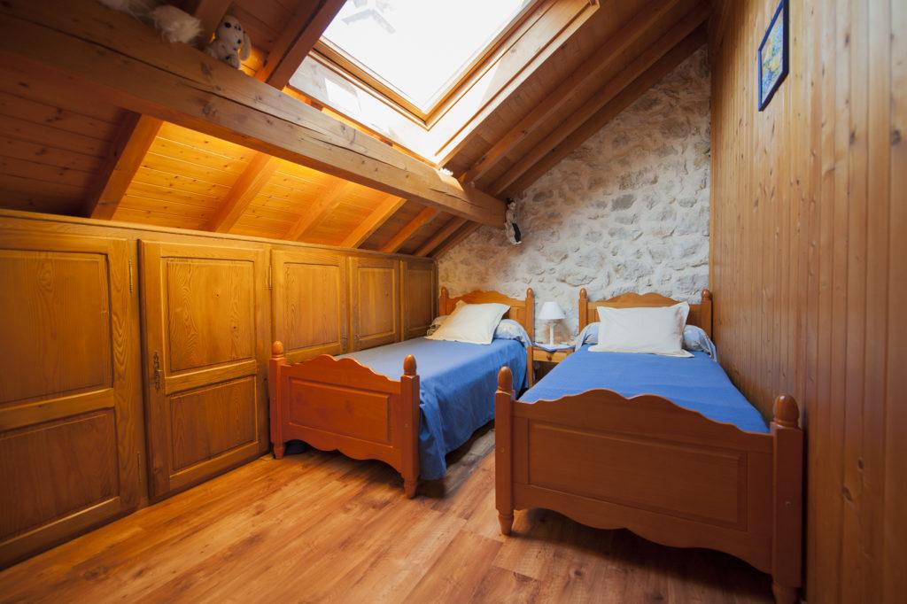 Chambre 3 pour les enfant au cellier des Carabins en Chautagne