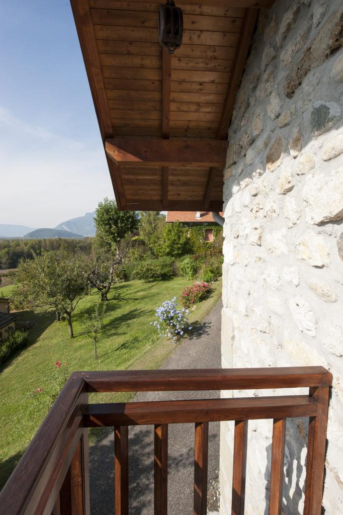 Vue sur le Colombier à Chindrieux en Savoie